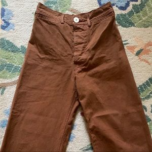 Jesse Kamm sailor pant- 34 skin tone